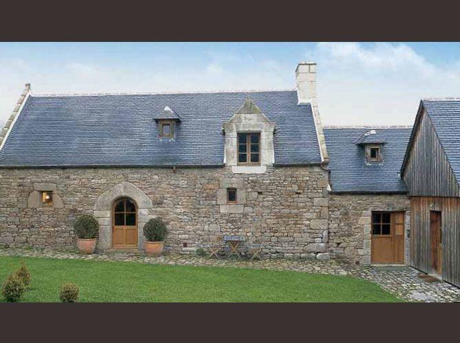 r novation une ferme manoir remise en tat cottages barns cabins tiny houses pinterest. Black Bedroom Furniture Sets. Home Design Ideas