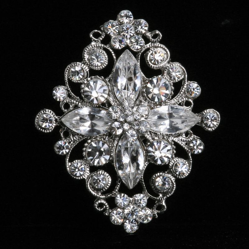 cabec1686 Wedding Jewelry Vintage Brooch - Stunning Bridal Brooches, Bridal Pins and  Gown Pick-Up Brooches