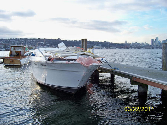 Sr 520 Bridge Boat Collision Boat Insurance Boat Life