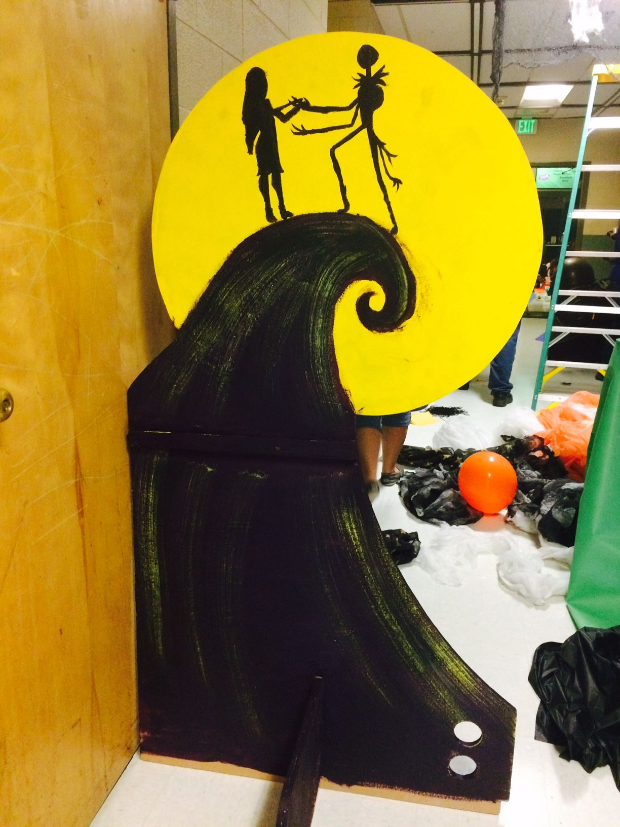 Nightmare Before Christmas Chair Revolving Manufacturers In Delhi Hallway Decorations