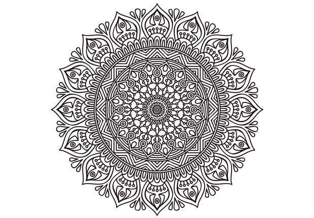 Coloriage gratuit imprimer coloriage anti stress et mandala gratuits pour adulte mandalas - Dessin de mandala a imprimer ...