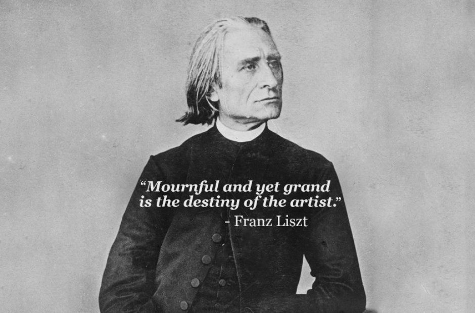 a look at the life of frankz liszt A close friend of mozart and a teacher of beethoven, franz joseph haydn was often called the father of the symphony at the time of his death, he was one of the.