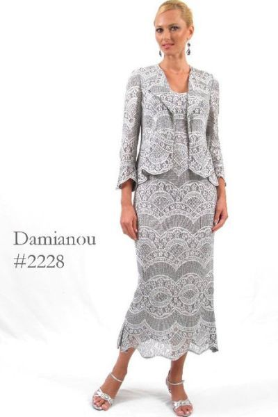 Damianou plus size evening dresses