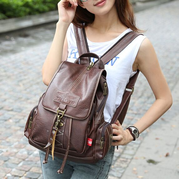 (Buy here: http://appdeal.ru/2ppr ) Vintage Preppy Style Women Backpack Girls Casual Travel bags Fashion mochilas Students of school bags Free shipping 2/5 for just US $47.66