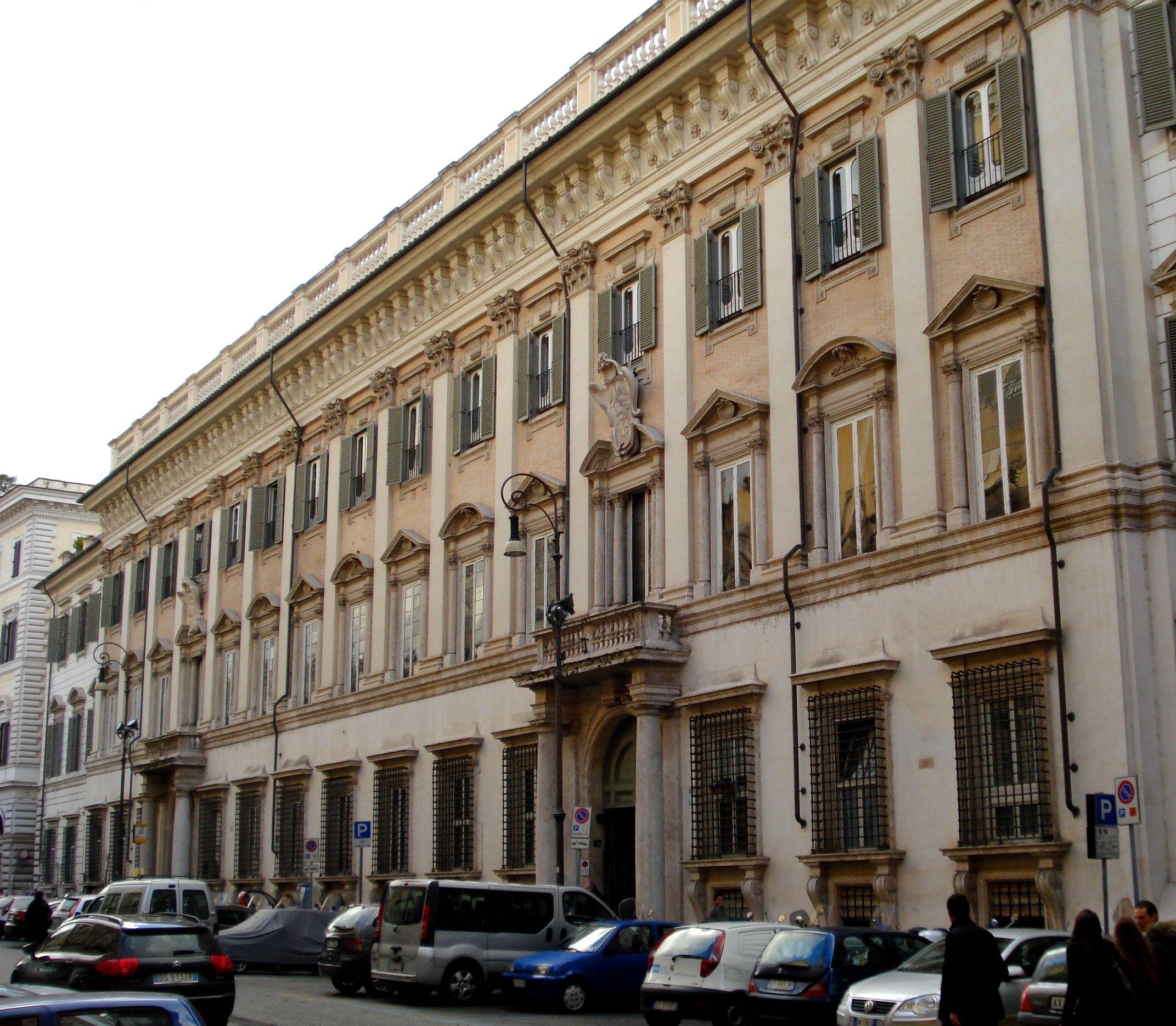 italian baroque architecture, bernini; palazzo chigi-odescalchi