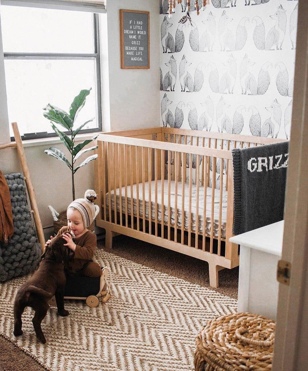 HOW TO BRING A NATURAL VIBE TO THE NURSERY | Natural baby room