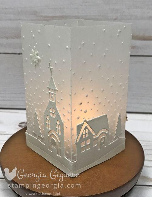 Photo of DIY Mini Vellum Luminary – Stampin' With Georgia