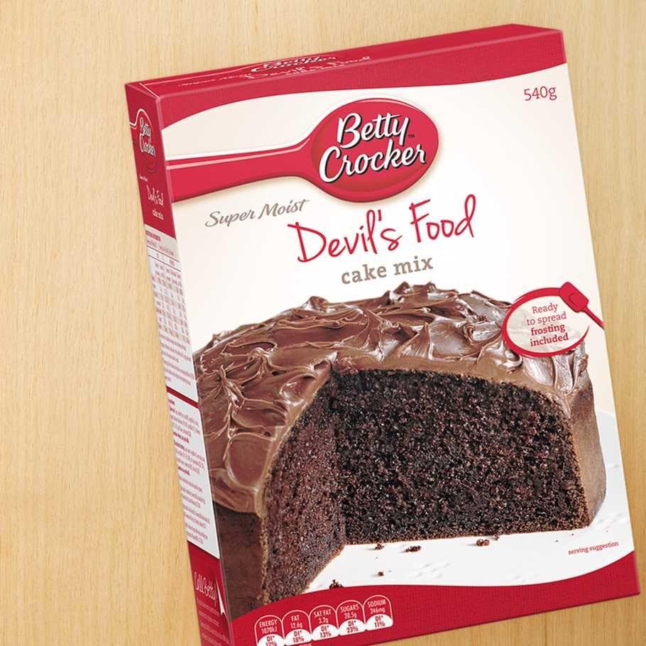 Betty Crocker Super Moist Cake Mix Australia