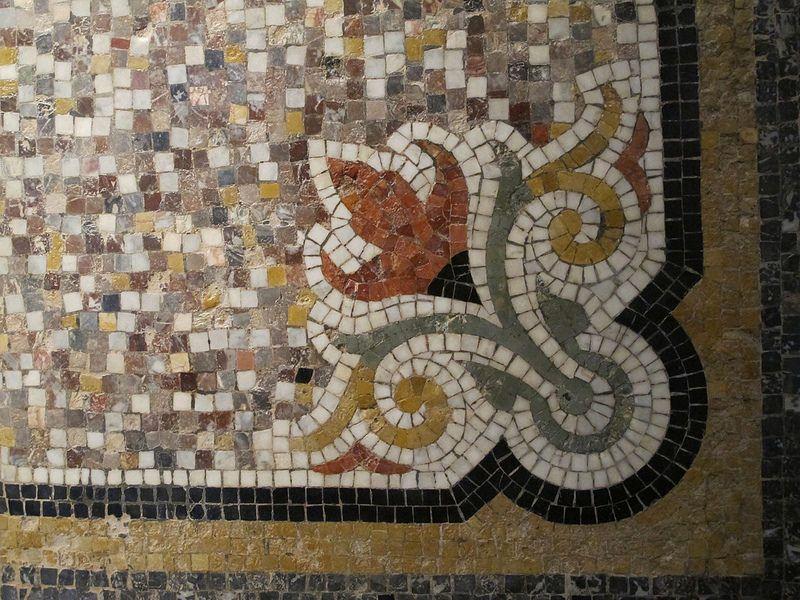 Sol De Hall D Entree Detail Fin Xixe Isidore Odorico Musee De Bretagne Rennes 35 Mosaic Patterns Mosaic Tile Art Mosaic Art