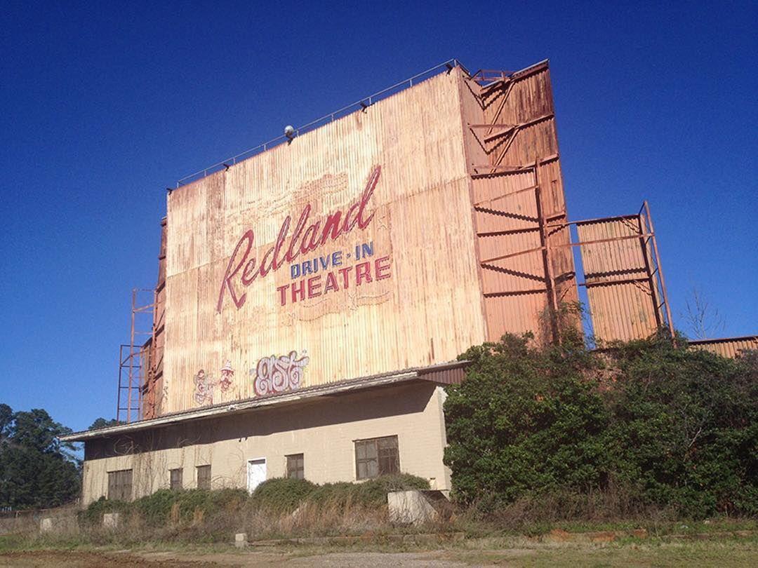 An abandoned drivein theater near dallas texas so what