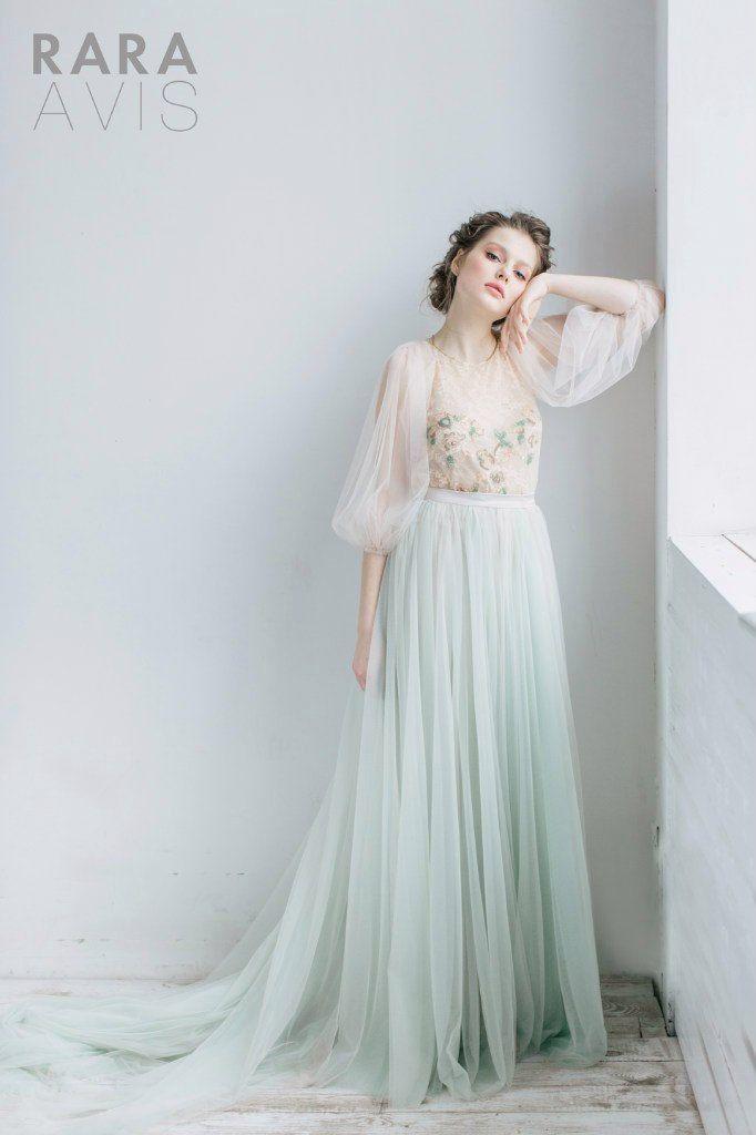 Wedding dress LEYA, fairy wedding dress, vintage style wedding ...