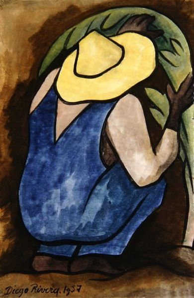 Diego Rivera: Agriculturist, 1937