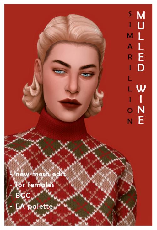 "️ = ️ simarillion ""Mulled Wine"" hair early season's"