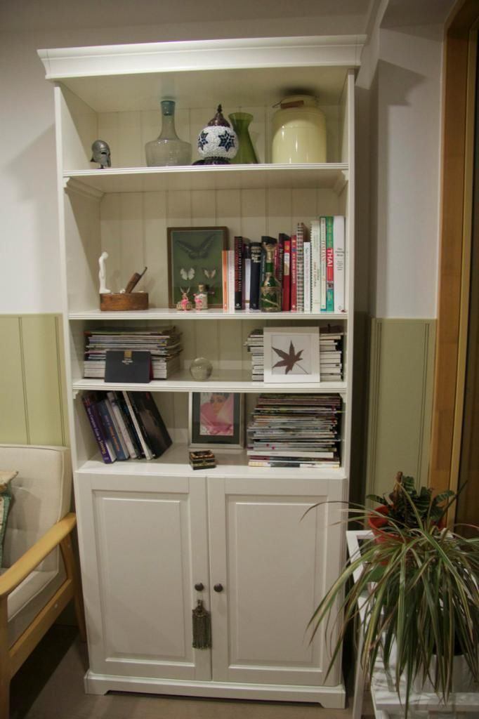 Used Ikea ikea liatrorp bookcase with doors on gumtree. used ikea liatorp
