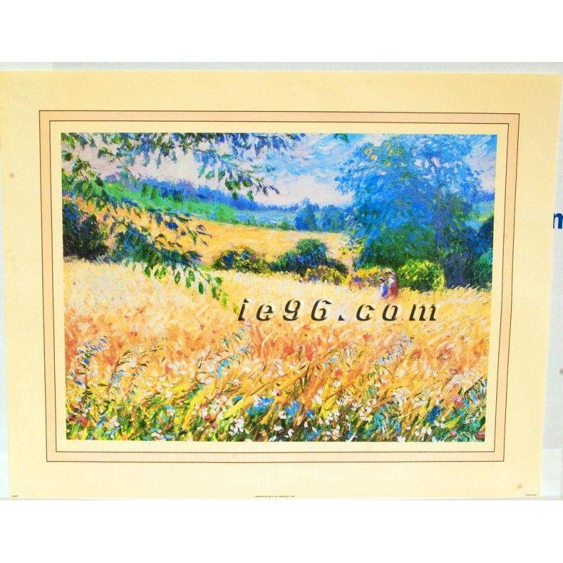 "Art Print By Bernard Fine Art  SC3817 Size (22"" x 28"") -- $2.50"