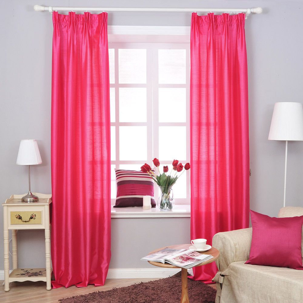 Superbe Beautiful Curtains For Girls Bedroom Decoration : Endearing Pink Girls Bedroom  Curtain In Captivating Girls Bedroom