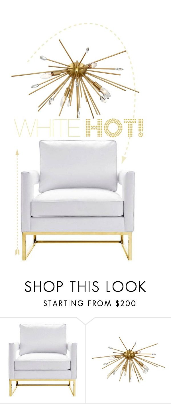 White Hot By Lampsplus Liked On Polyvore Featuring Interior
