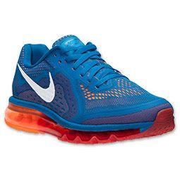 Nike Air Max 2014 Military Blue Total Orange