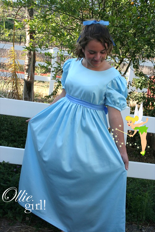 Wendy Darling from Peter Pan  sc 1 st  Pinterest & Wendy Darling from Peter Pan | homemade Costumes | Pinterest ...