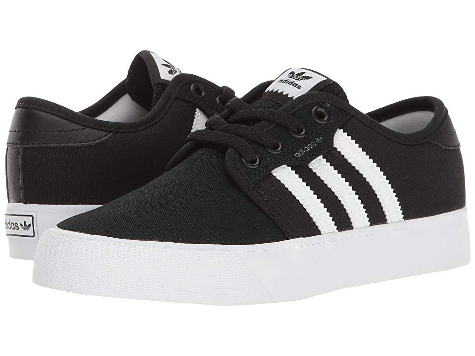 adidas Skateboarding Seeley J (Little KidBig Kid) (Black