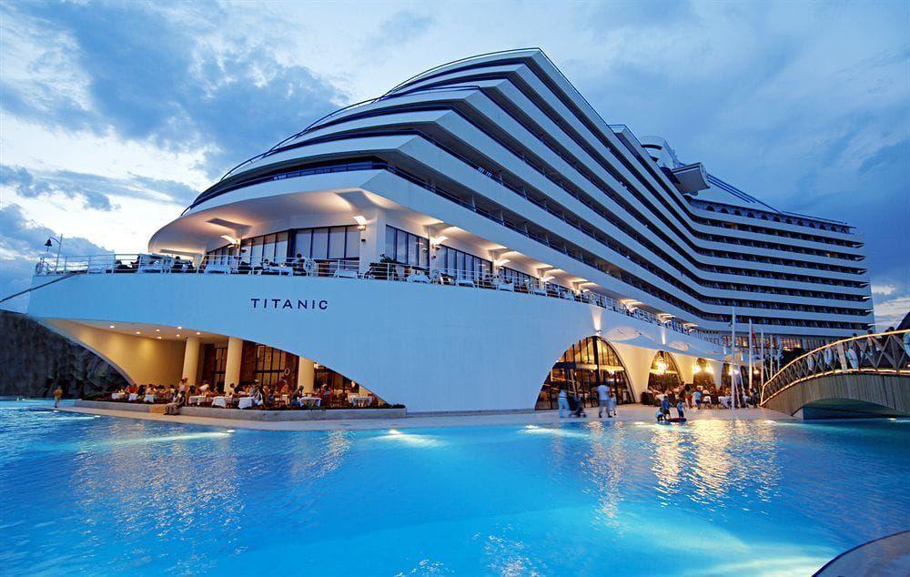 Titanic Beach Lara In Antalya Turkey Theme Hotel Hotels And Resorts Luxury Beach Resorts