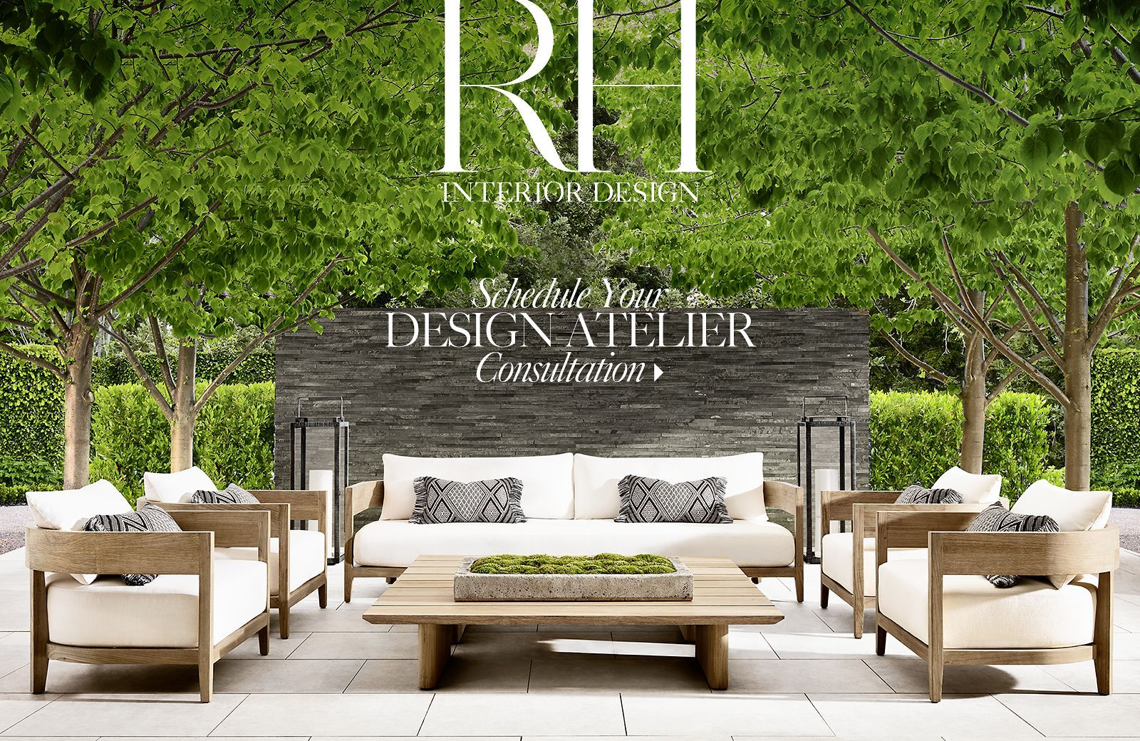 RH RH Homepage RH Homepage outdoor