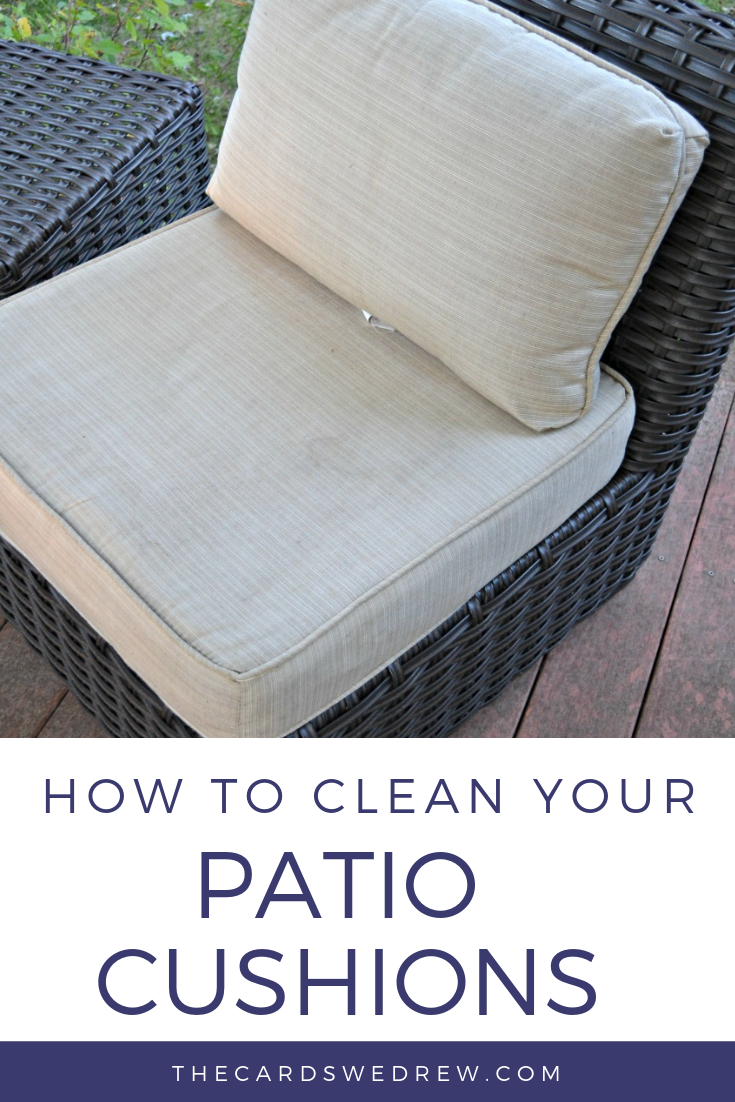 How To Clean Patio Cushions Out Side Help Clean Patio Cleaning