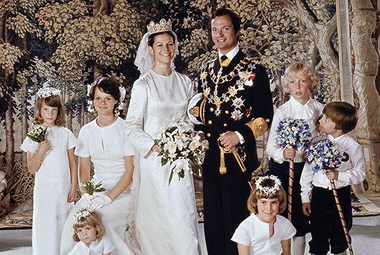 Kungaparets 40-åriga bröllopsdag - Sveriges Kungahus