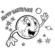Top 20 Free Printable Earth Day Coloring Pages Online For Kids