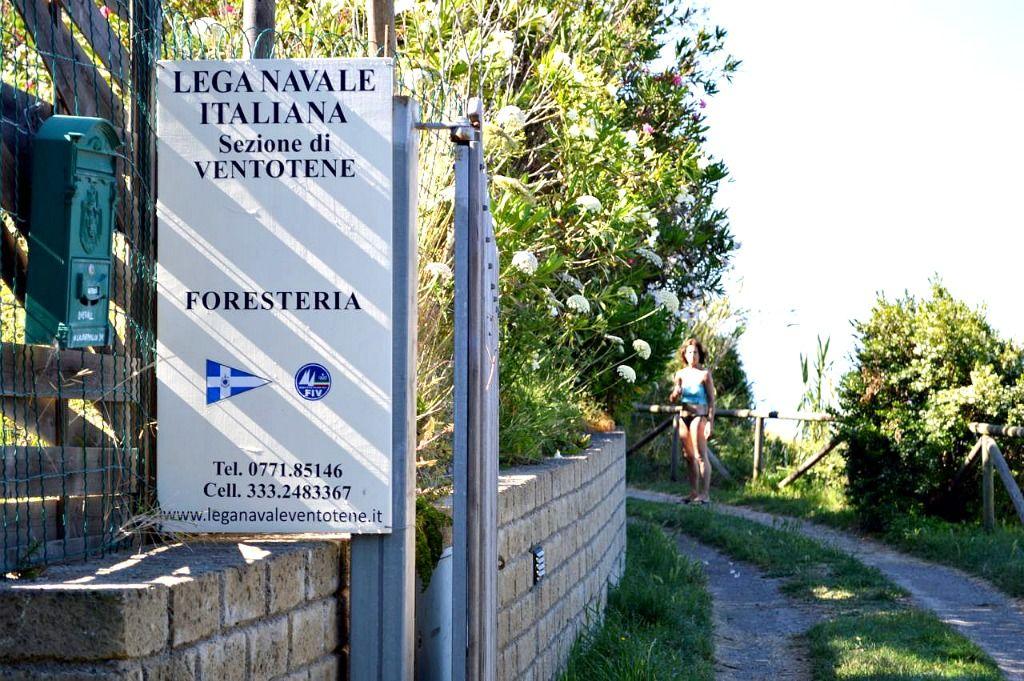L'ingresso della sede, dove si trova la nostra Foresteria: offriamo alloggi e ospitiamo i ragazzi che frequentano i corsi. (Foto di Pierfrancesco Marsiaj).