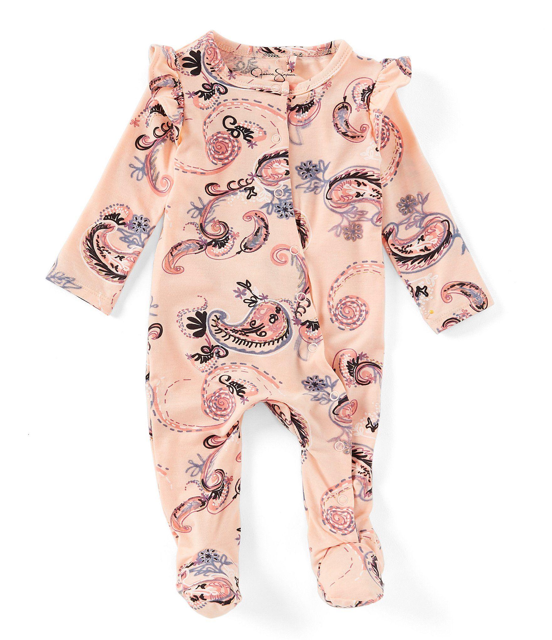 BABY GIRL/'S BOUTIQUE BUBBLE ROMPER SUN SUIT INFANT PAISLEY CHOICE NEW