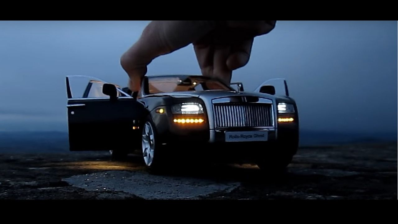1/18 Rolls Royce Ghost Review AMAZING Expensive Luxury Toy Car - Роллс Р...
