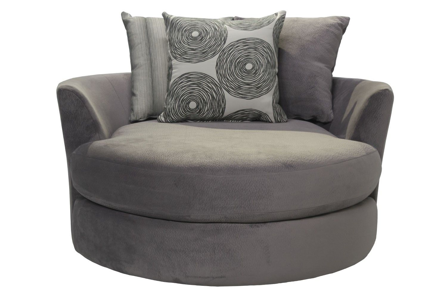 Merveilleux Key West Cuddler In Gray   Accent Chairs   Living Room | Mor Furniture For  Less