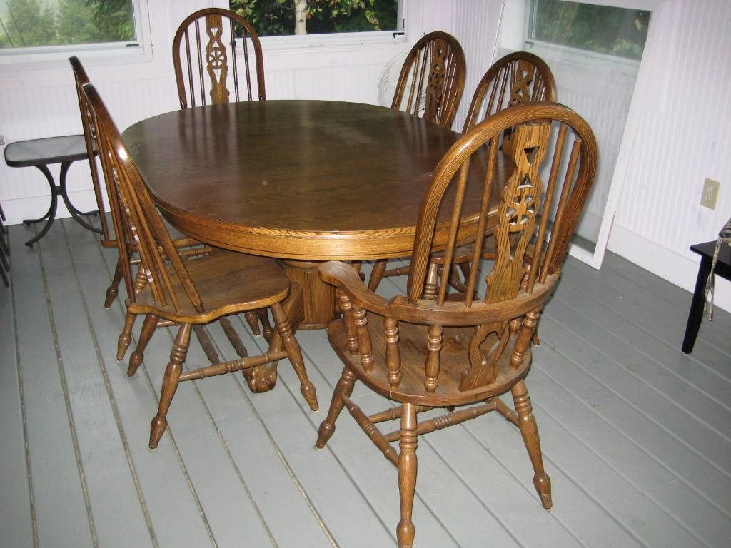 Used Kitchen Table and Chairs  Decor Ideas  Dining room table