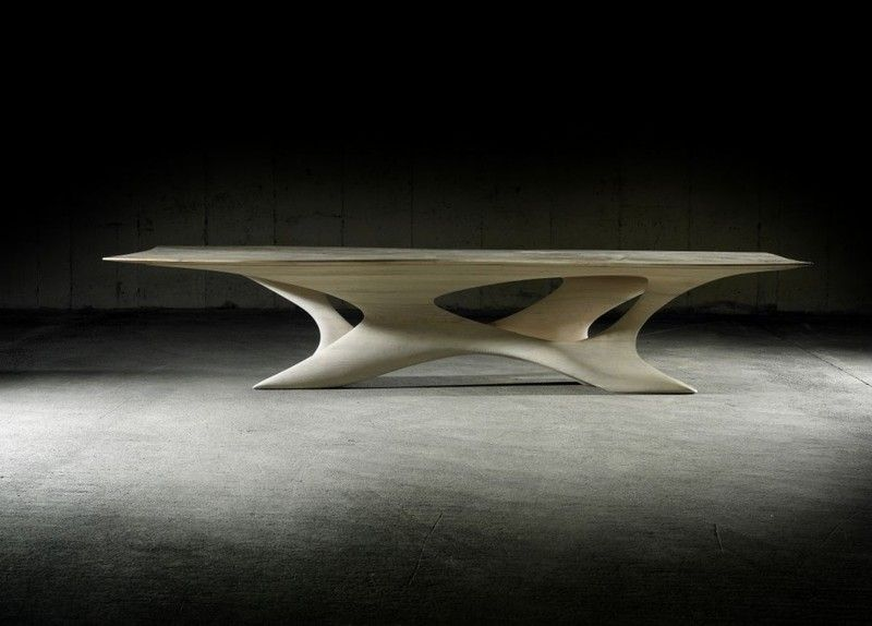 Image Detail For  Unique Dining Table With Erosion Effect U2013 Erosion II Dining  Table .