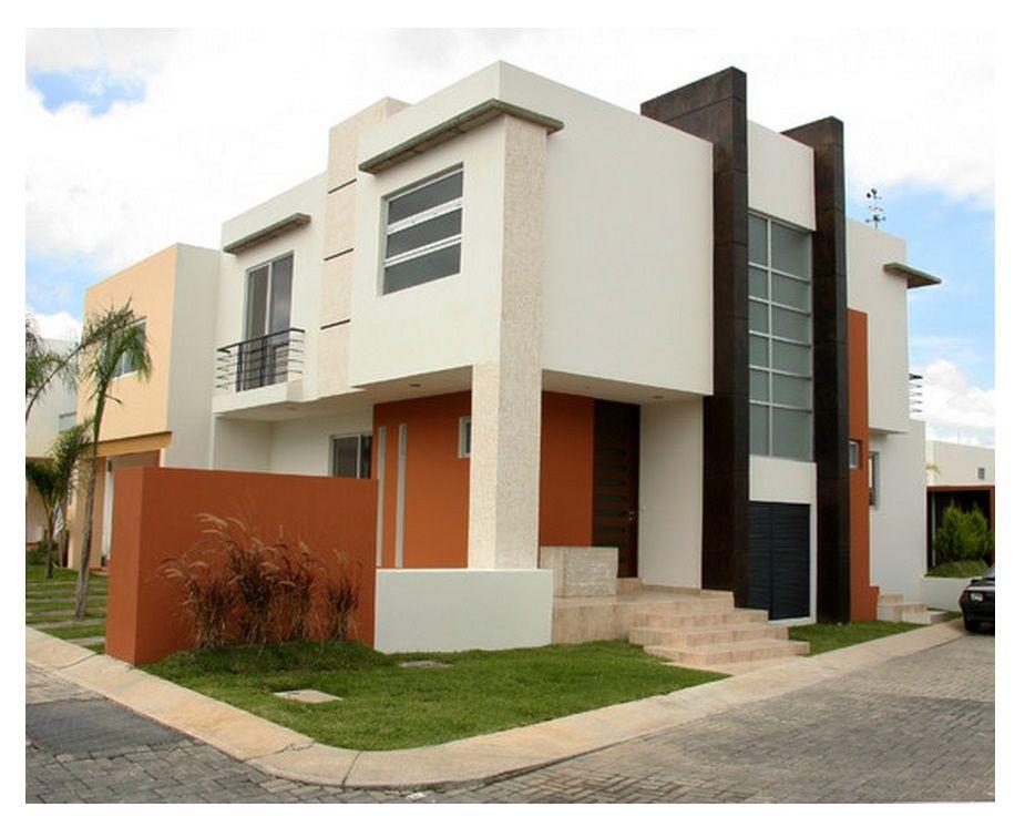 fachadas de casas minimalistas fachadas pinterest On colores para casas minimalistas exterior