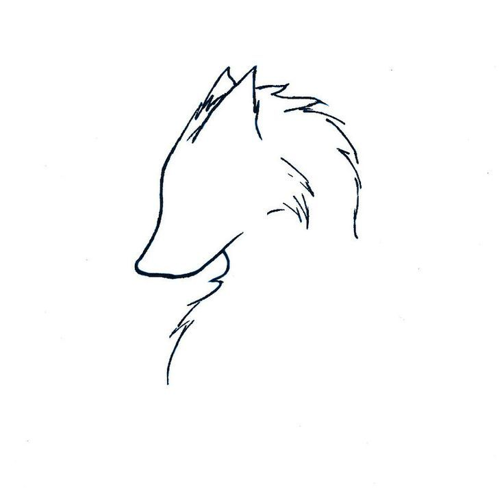 Resultat De Recherche D Images Pour Minimalist Wolf Tattoo Wolf Tattoos Simple Wolf Tattoo Small Wolf Tattoo