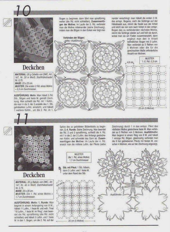 Victoria - Handmade Creations : Δαντέλες - Σχέδια   Βελονάκι ...