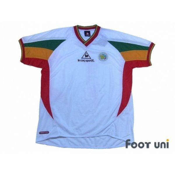Photo1 Senegal 2002 Home Shirt W Tags Lecoq 2002 Korea Japan Fifa World Cup Senegal Home Shirt Football Shirts Soccer Jerseys Vintage Classic Retro Onlin