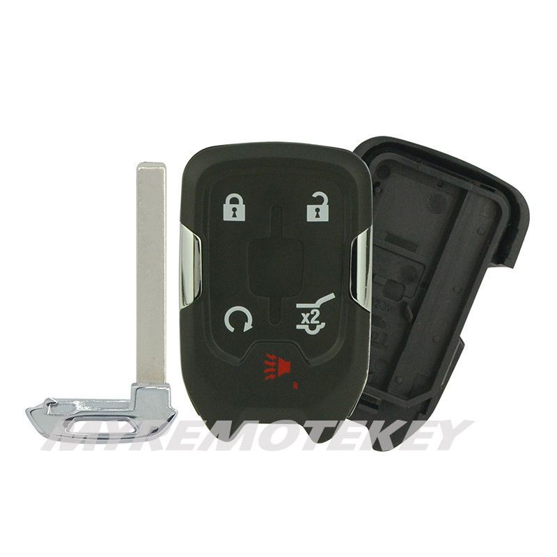 Keyless Entry Replacement Hyq1ea Smart Key Case 5button For Chevrolet Gmc Acadia Myremotekey Smart Key Gmc Car Key Fob