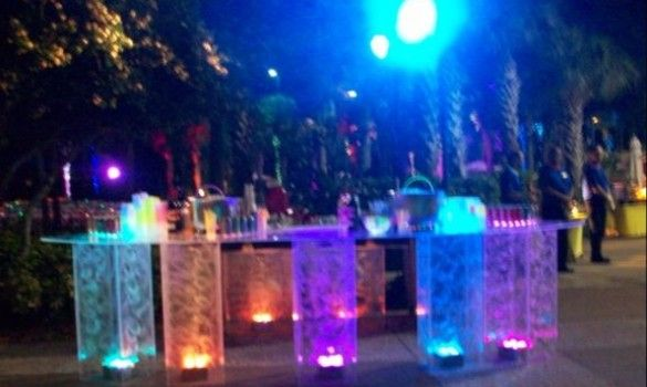Outdoor Glow Party Glow Party Blacklight Party Centerpieces Outdoor
