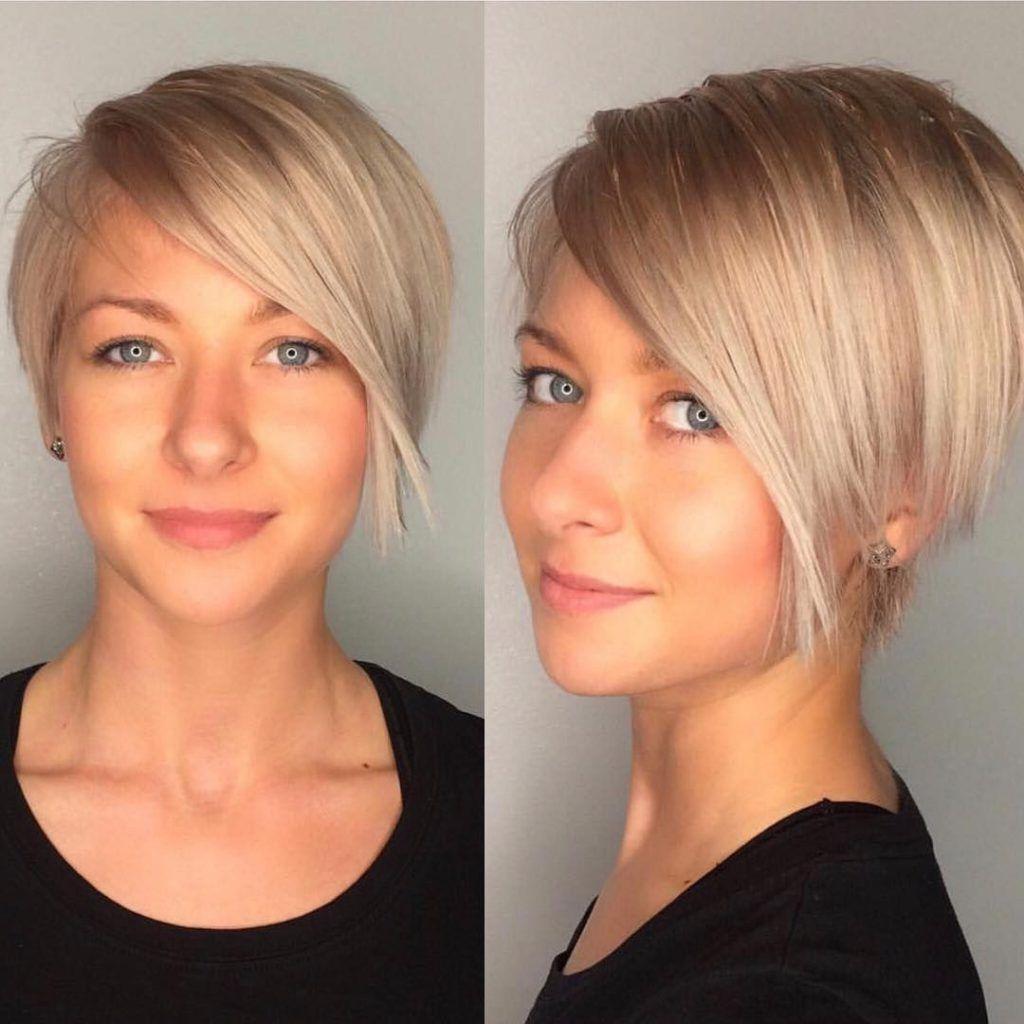 Short Hair Round Face Double Chin Short Hair Styles For Round Faces Short Hair Styles Stylish Short Haircuts