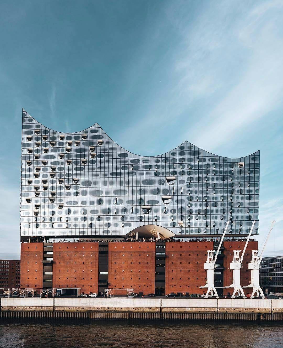 Elph Repost Via Davidkarladam Elbphilharmonie Hamburg Architecture Gebouwen