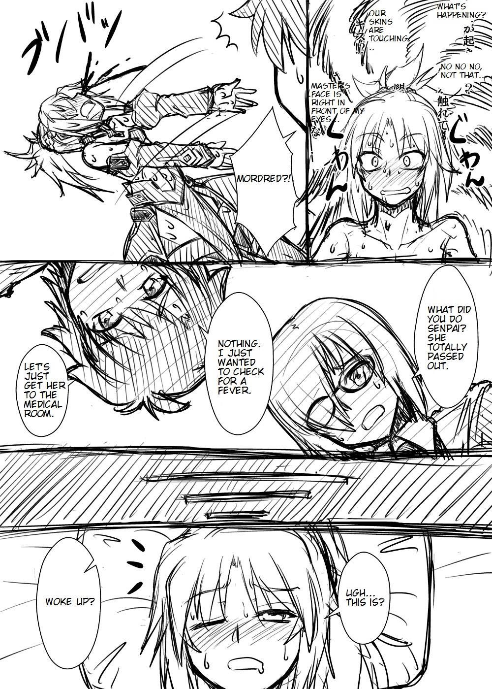 Mordred is sick