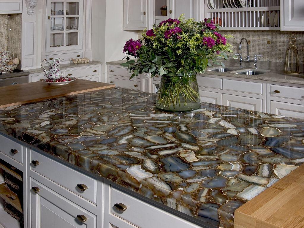 Exceptional Granite · Caesarstone Sfumato Countertops Installation Photo