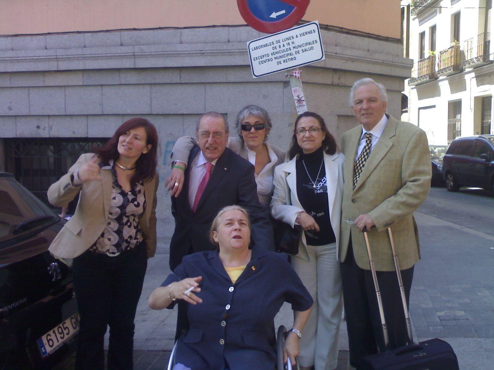 Juan de Dios Ramírez Heredia, Yolanda Besteiro, Juan Lara y Roser Romero