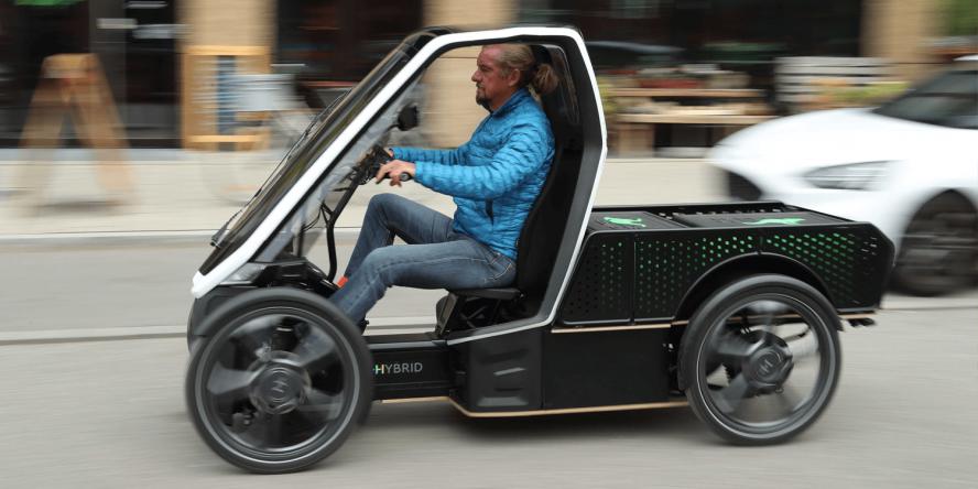 Photo of Schaeffler Bio-Hybrid pedal-assist light electric vehicle – electrive.com