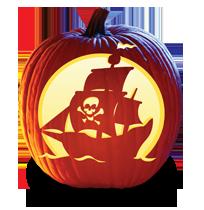 Bone Voyage Pumpkin Carving Pattern Pumpkin Carving Halloween Pumpkin Carving Stencils Pumpkin Carvings Stencils