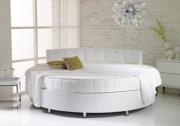 Round Bed This New And Very Popular Innovation Is For Someone Who Thinks Outside The Box Round Beds Home Decor