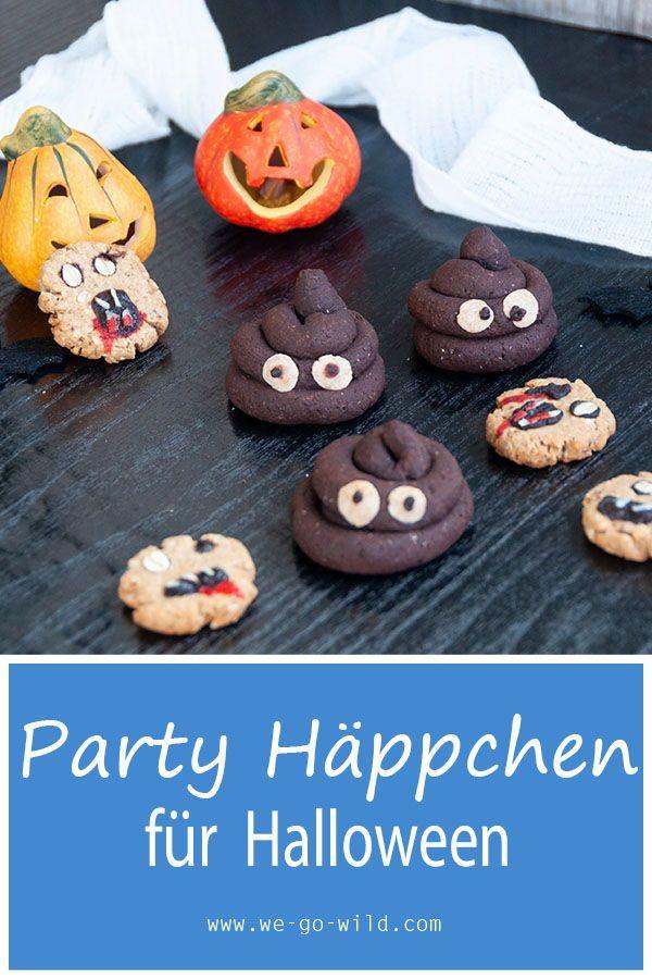 Schaurig gesunde Halloween Kekse ohne Zucker